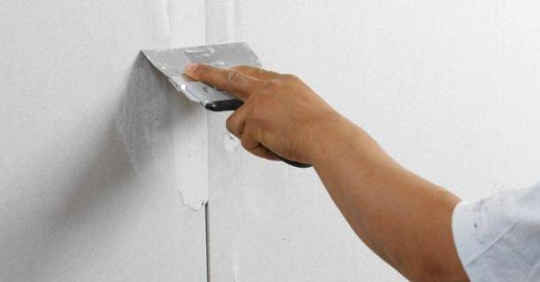 підготовка стін з гіпсокартону під шпалери