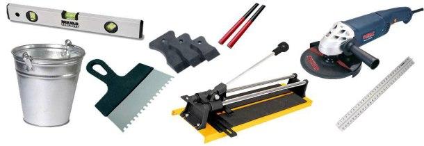 інструменти для вкладання плитки