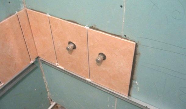 вкладання плитки на стіну своїми руками