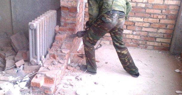 знесення стін під час ремонту квартири