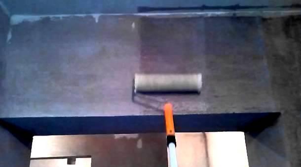 технологія грунтування стін валиком