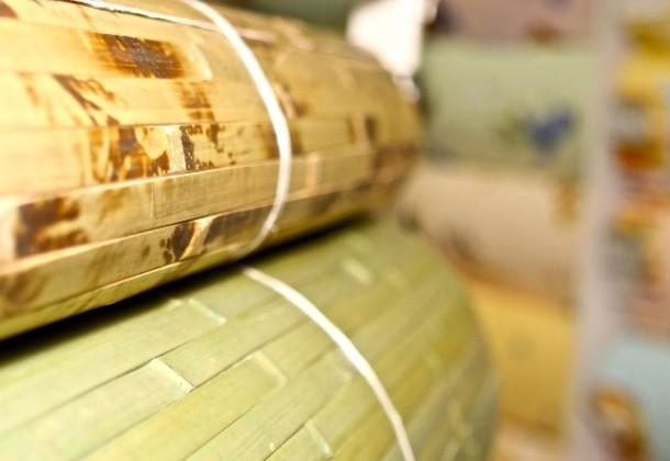 технологія наклеювання бамбукових шпалер своїми руками