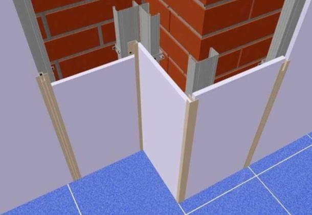 кріплення до стін пластикових панелей