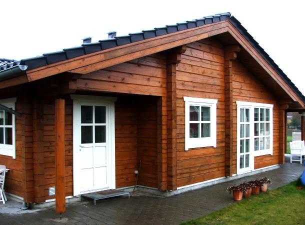 будинок з дерев'яного бруса своїми руками