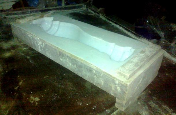 саморобна форма для заливання бетонних балясин