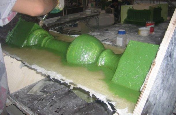 силіконова форма для бетонних балясин