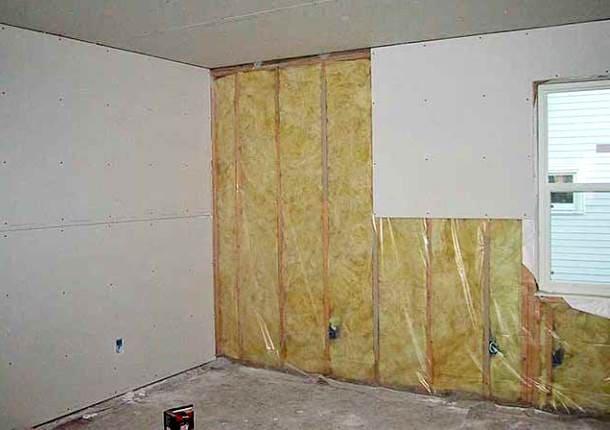 зменшення проникнення шуму в кімнату