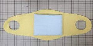 фільтр для захисної маски з марлі